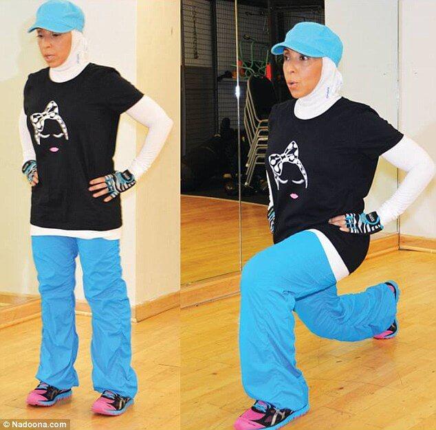 baju senam muslimah