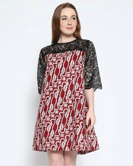 Inilah Model Baju Batik Kombinasi Modern yang Paling Pas Buat Kamu f1e85e14ed