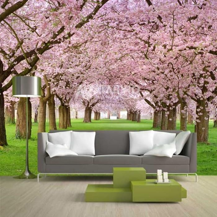 harga wallpaper dinding 3d pemandangan alam