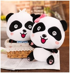 Boneka Panda Couple
