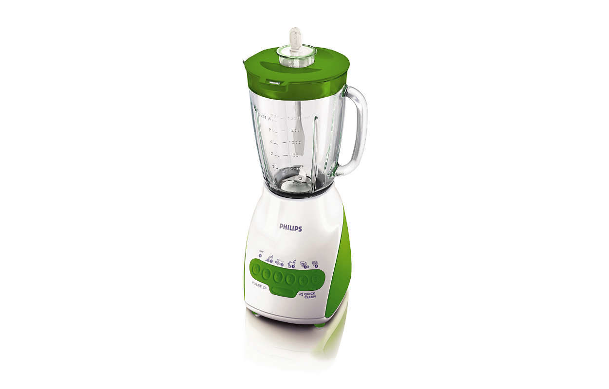 Philips Blender Kaca HR211640 -Hijau