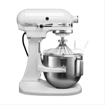 Kitchenaid 5KPM150-EWH Heavy Duty – 5Quart Stand Mixer