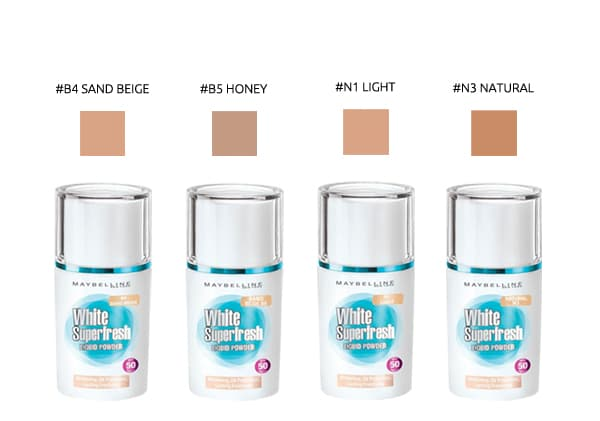 foundation maybelline terbaru