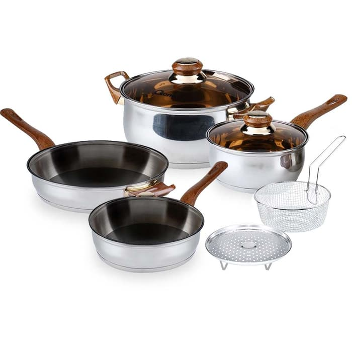 Oxone OX – 911 Basic Cookware Set 4+2 pcs