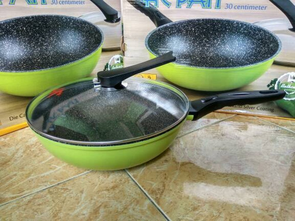 Wok Pan HC Pan Korea Green